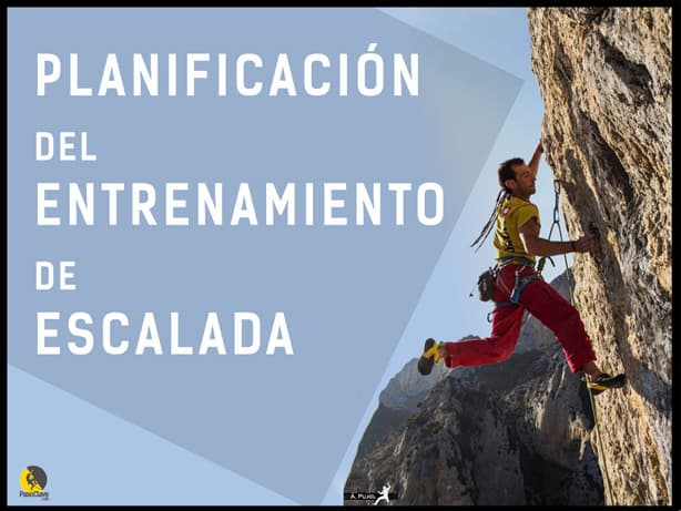 Planificación del entrenamiento de escalada deportiva en roca