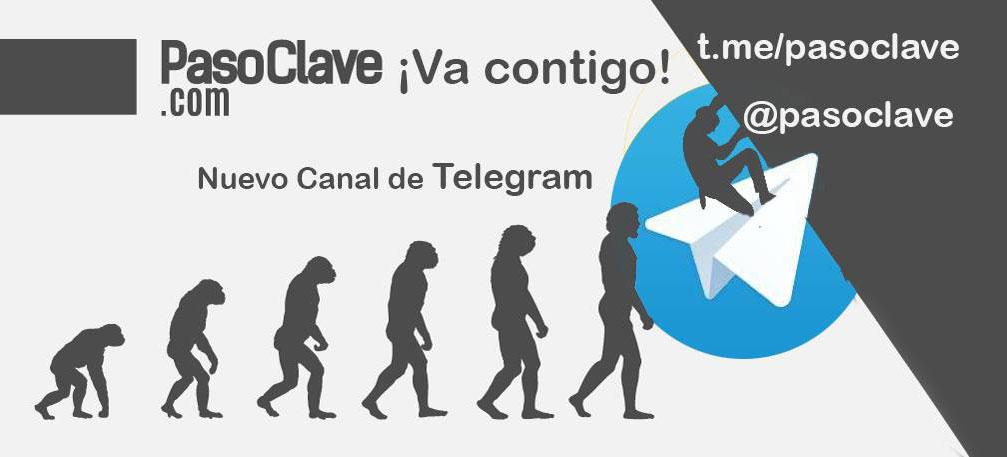 canal de telegram de pasoclave de escalada, entrenamiento y nutricion evolutiva en t.me/pasoclave