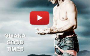 imagen de CHRIS SHARMA en el vídeo de escalada deportiva en oliana