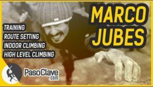 marco jubes habla sobre route setting y entrenamiento de escalada