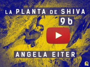 Vídeo de angela eiter en la planta de shhiva 5.15b