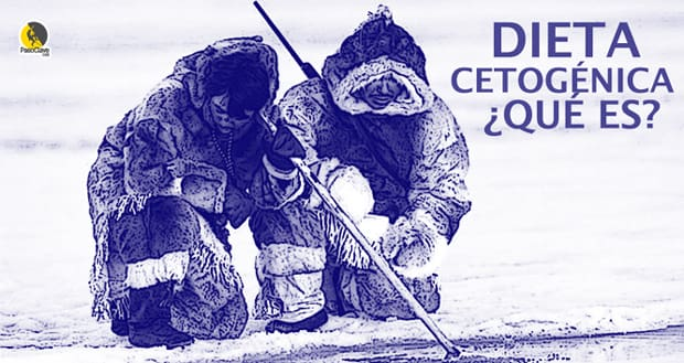 esquimales inuit pescando en cetosis
