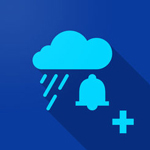 aplicación alarma de lluvia para escaladores