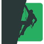 app gratuita con reseñas de escalada y bloque