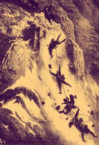 escalada y alpinismo en la conquista del Cervino