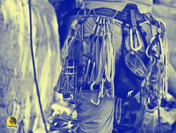 arnés para escalada clásica y tradicional