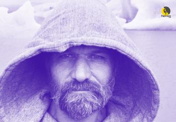 El hombre de hielo o iceman: Wim Hof