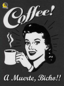 anuncio de café para escalar a muerte