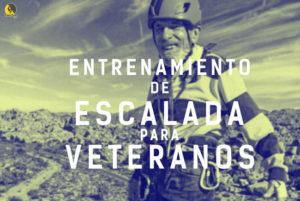 entrenamiento de escalada para veteranos