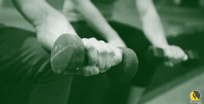 escaladores compensando los músculos antagonistas del antebrazo