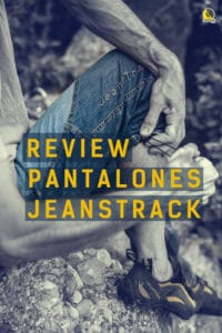 review de los pantalones de escalada jeanstrack