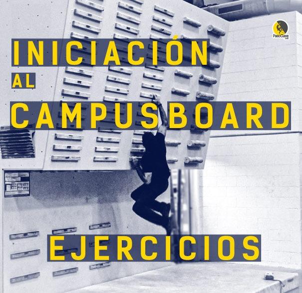 ejercicios de iniciación al campus board