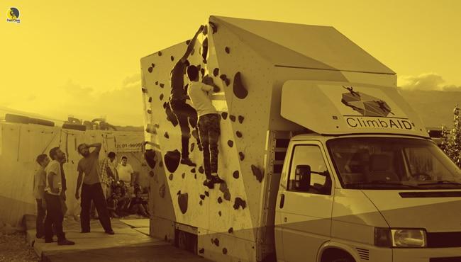 ClimbAID aplicando los beneficios de la escalada para la integración social