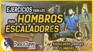 ejercicios para los hombros para escaladores