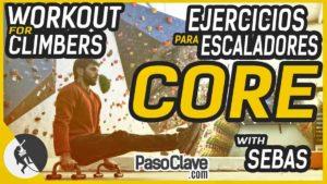 ejercicios para el core para escaladores