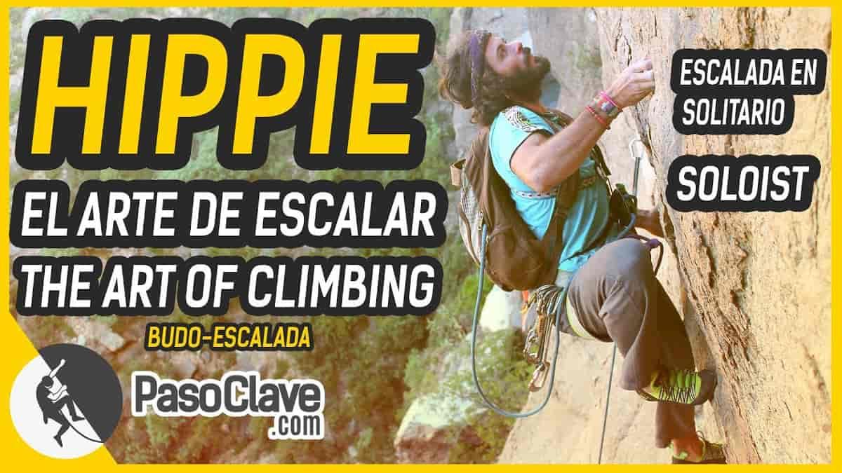 vídeo entrevista a Hippie, el samurai de Chulilla y autor del libro Actitud. El arte de escalar