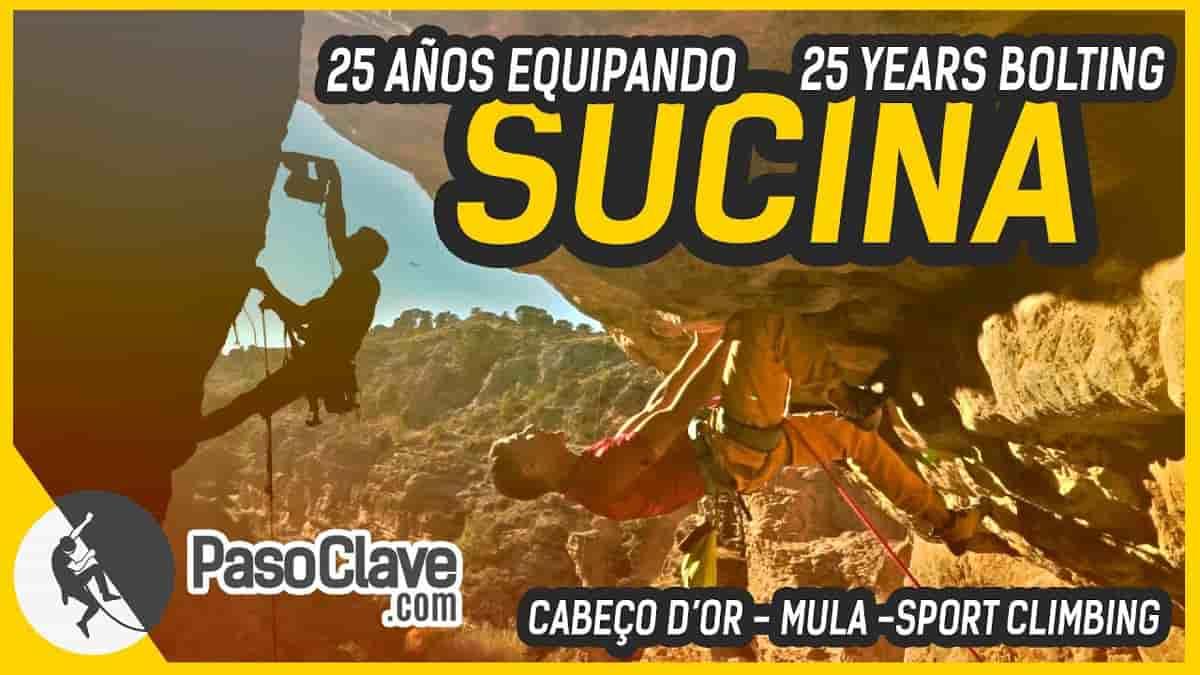 Vídeo de Sucina, equipador de escalada deportiva en Mula, Murcia, Cabezón de Oro, Cabeço d'Or,...