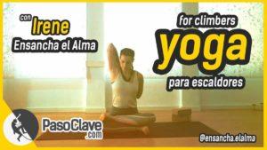 vídeo de yoga para escaladores