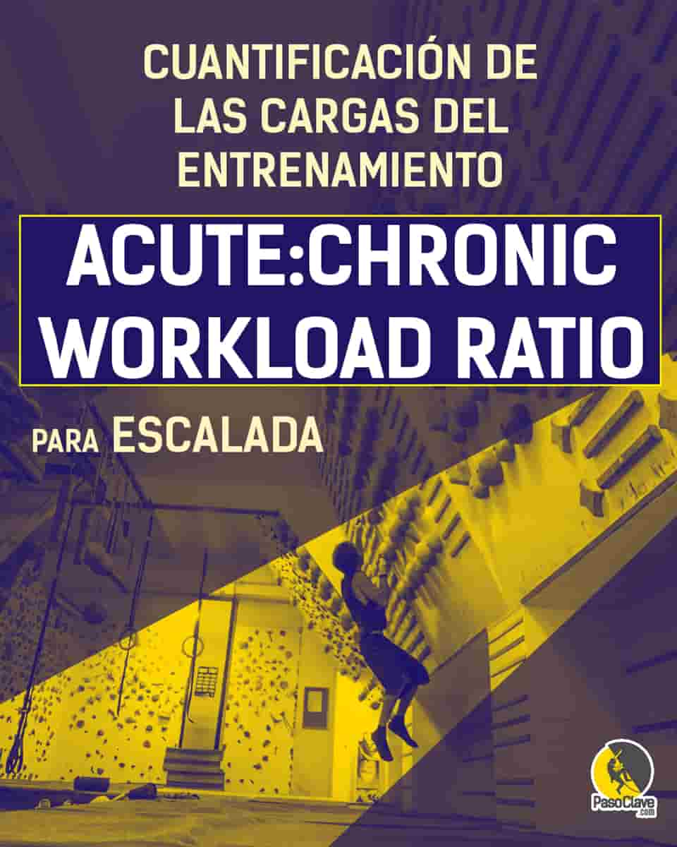 acute chronic workload ratio para el entrenamiento de escalada