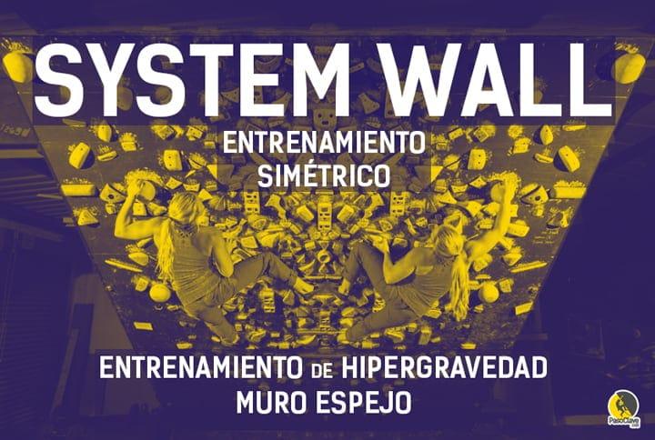 entrenamiento simétrico en system wall o muro espejo