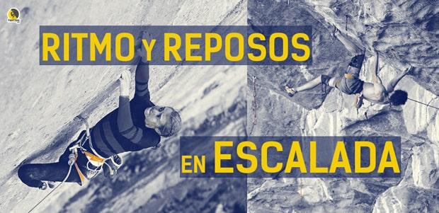 Entrenamiento del ritmo y los reposos para escalada deportiva