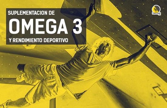 suplementos de omega 3 para el rendimiento deportivo y en escalada