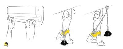método de suspensiones intermitentes para medir la fuerza crítica de un escalador
