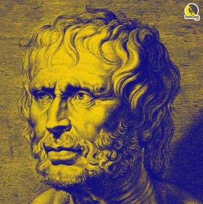 Retrato del filósofo estoico Séneca