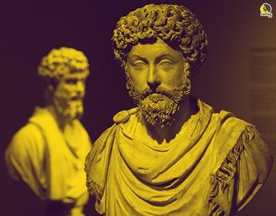 Busto de Marco Aurelio, gran figura del estoicismo