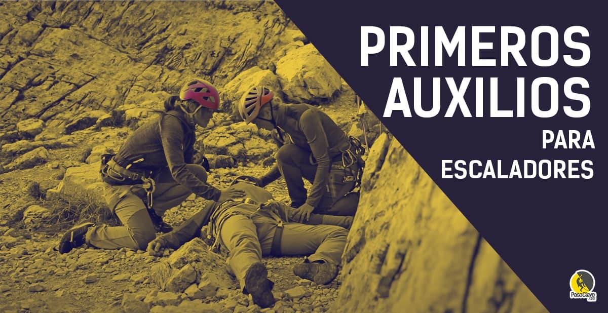 Salvamento de Primeros auxilios de un escalador