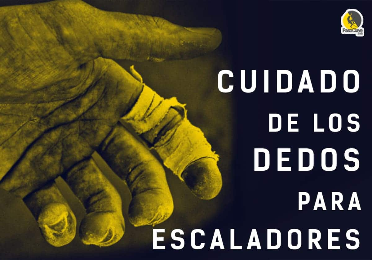 cuidado de los dedos para escaladores