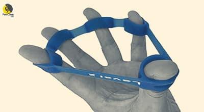 Ejercitador de los flexores de los dedos para escaladores
