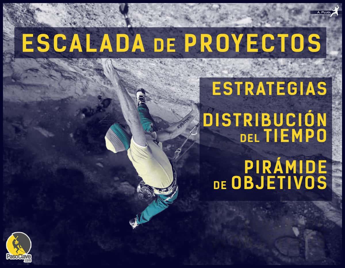 Escalada de proyectos: estrategias y pirámide de objetivos
