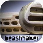 App de Beastmaker para entrenar suspensiones en multipresas
