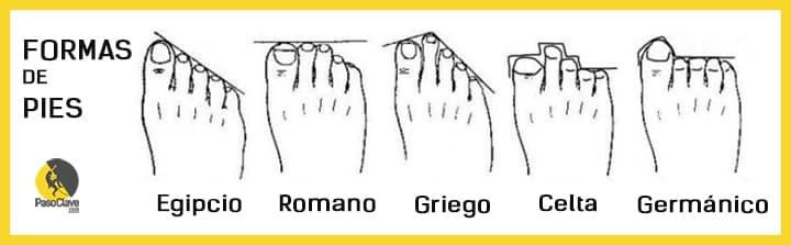 Formas de pies para comprar el calzado de escalada